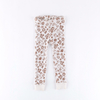 Custom Fashion Kids Clothing Girls Pants Printed Flower