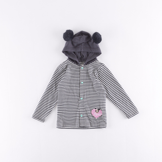 kids' hooded knit coats