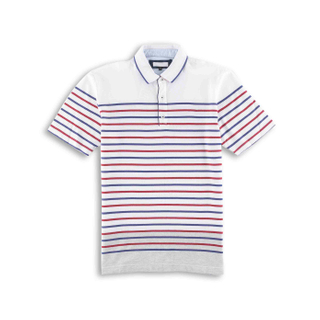 Men's Stripe Polo Shirt