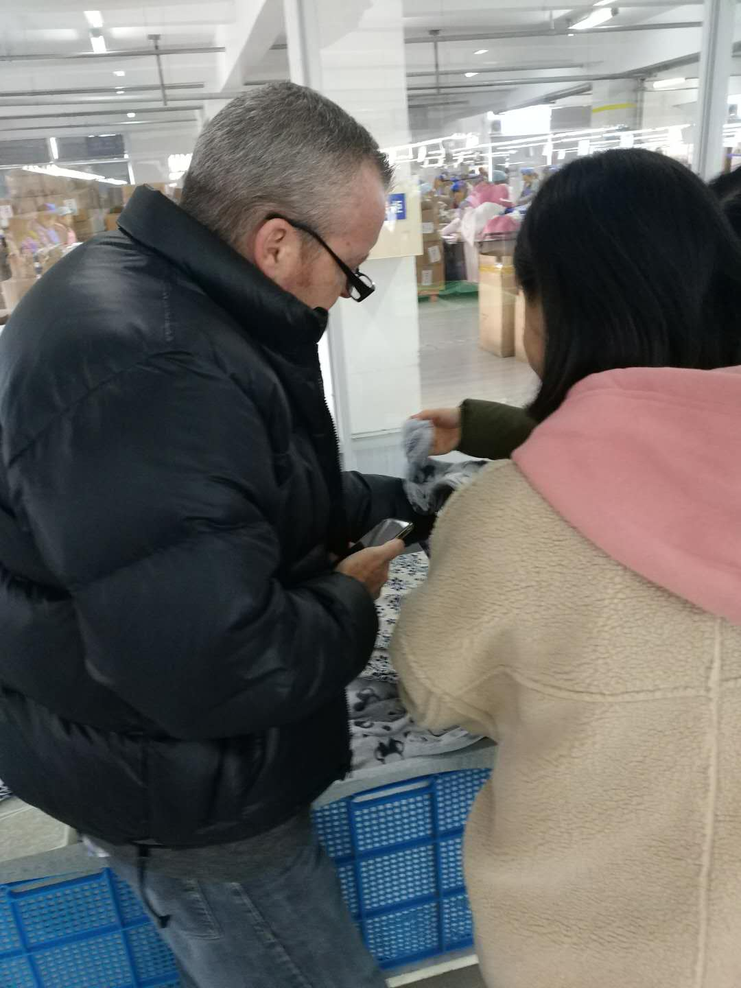 Sourcing Manager from ATTIRE Visited Saiform China