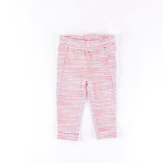 Wholesale red white stripes cotton girls lounge pants
