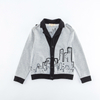 New wholesale autumn cotton knitting 7-10 years boys coats