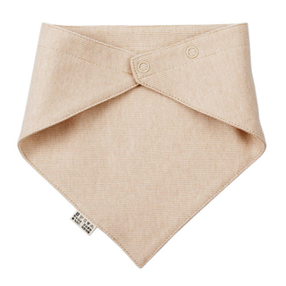Natural Colored Cotton Bib