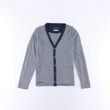 Men's Stripe cardigan